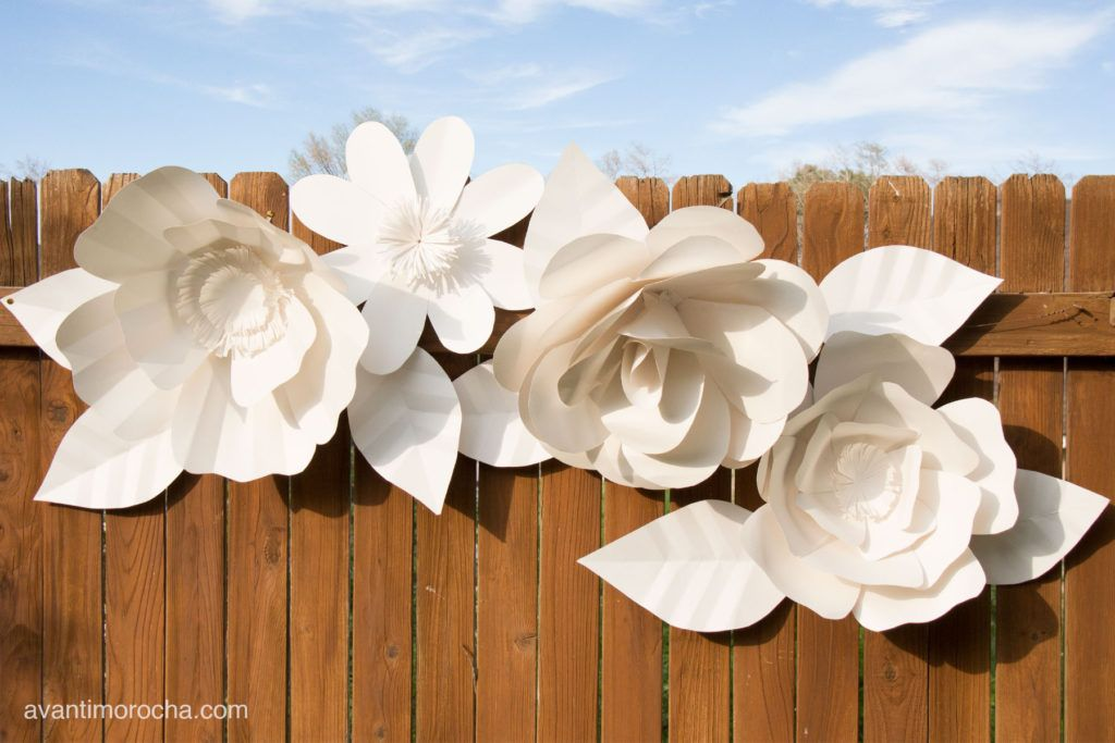 Diy giant paper flower backdrop flores grandes de papel diy giant paper flower backdrop mightylinksfo