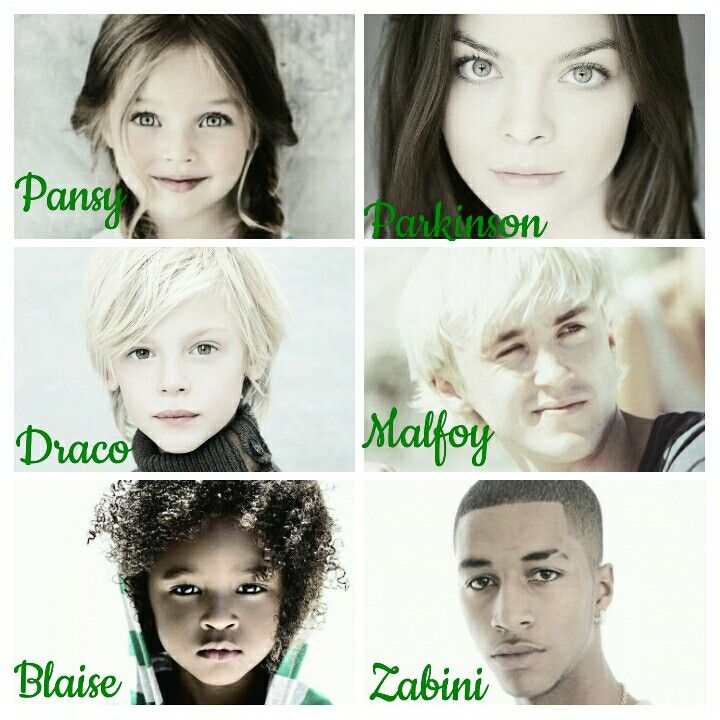 Harry Potter Aesthetics Syltherins Then And Now Pansy Parkinson Draco Malfoy Blaise Zabini By Harry Potter Pansy Parkinson Fem Harry Potter Female Harry Potter