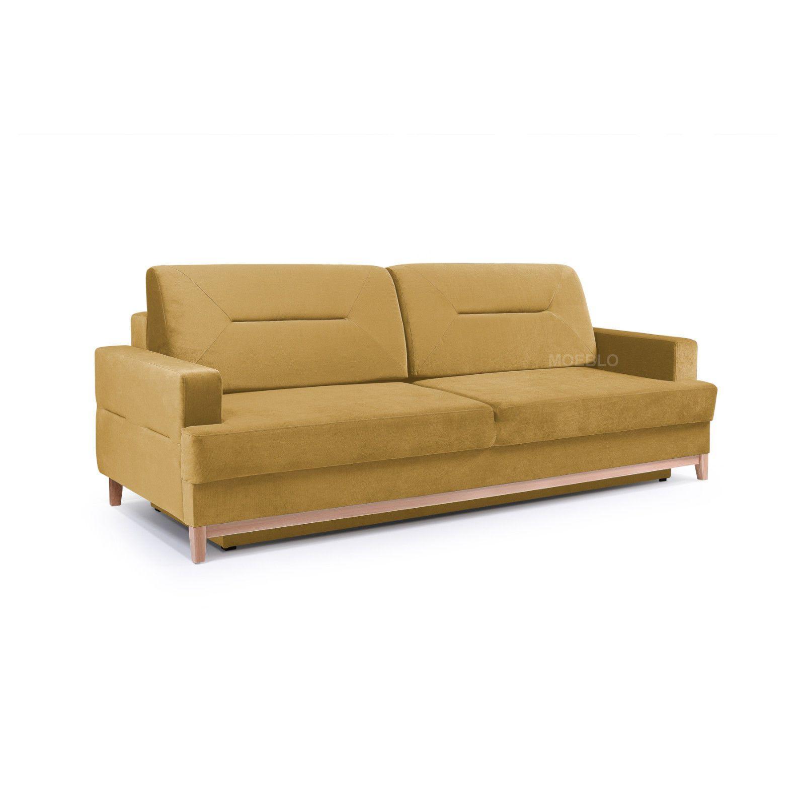 Elegante Couch Mit Schlaffunktion Big Sofa Schlafsofa Wohnzimmer