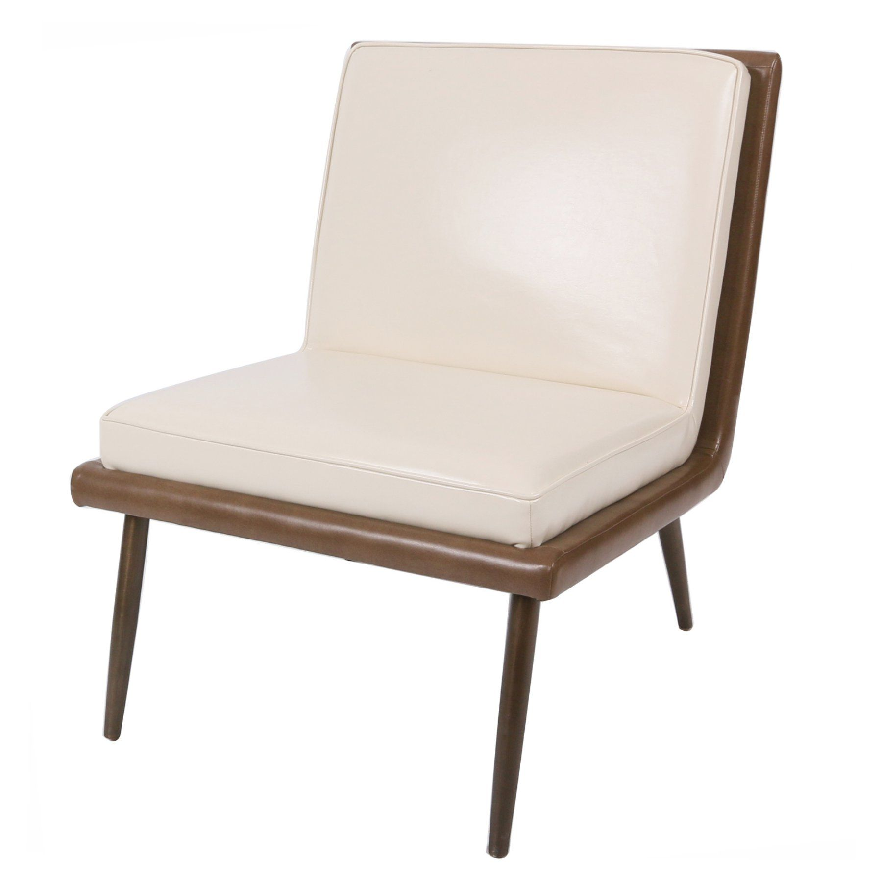Brilliant New Pacific Direct Inc Auden Leather Accent Chair 3500039 Caraccident5 Cool Chair Designs And Ideas Caraccident5Info