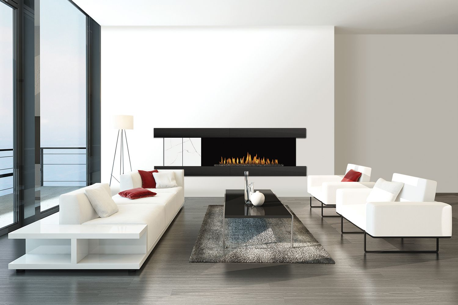 H Series By European House Gas Fireplace Fireplace