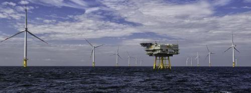 Windkraft : Kräftiger Wind aus Nordwest