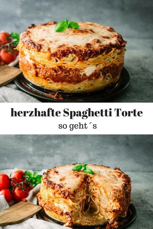 Photo of Spaghetti cake with minced meat – the perfect family meal