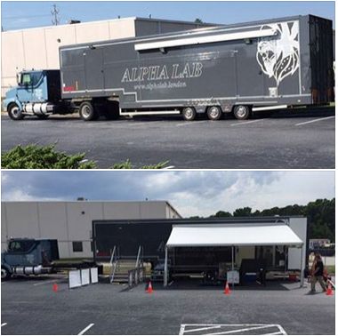 The Alpha Grip's Mobile Lab stopped yesterday at ARRI Rental Atlanta. Check out this mobile motion picture processing and scanning lab -> http://bit.ly/1SvohIq#FilmWorthy