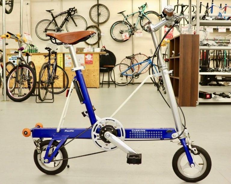 こんな折りたたみ自転車みたことない 中古自転車の掘り出し物を探しに バイチャリ浦和ベース Frame フレイム 折りたたみ自転車 自転車 カスタム 自転車