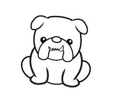 Bully Image By Ronda Branneman Bulldog Clipart Bulldog Drawing