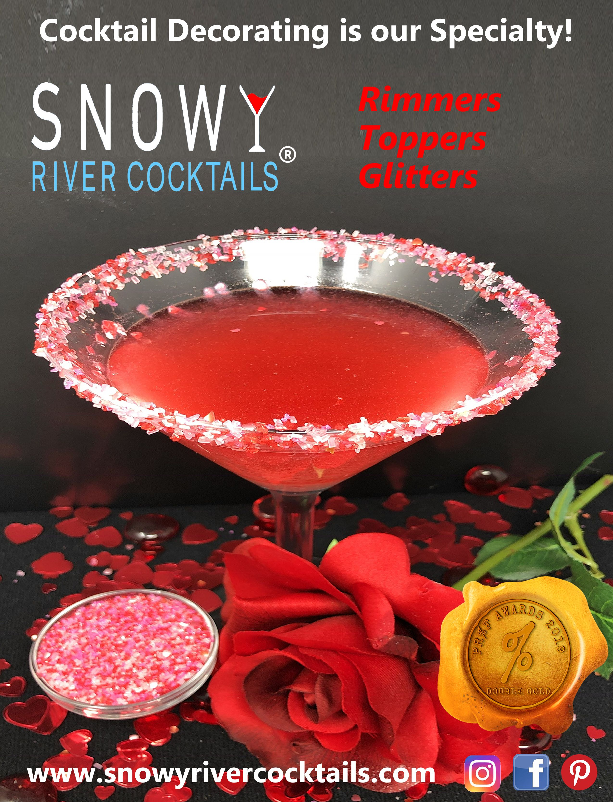 Snowy River Sweetheart Cosmo Cocktail Decorating Kit Cosmo Cocktail Cocktails Craft Cocktails