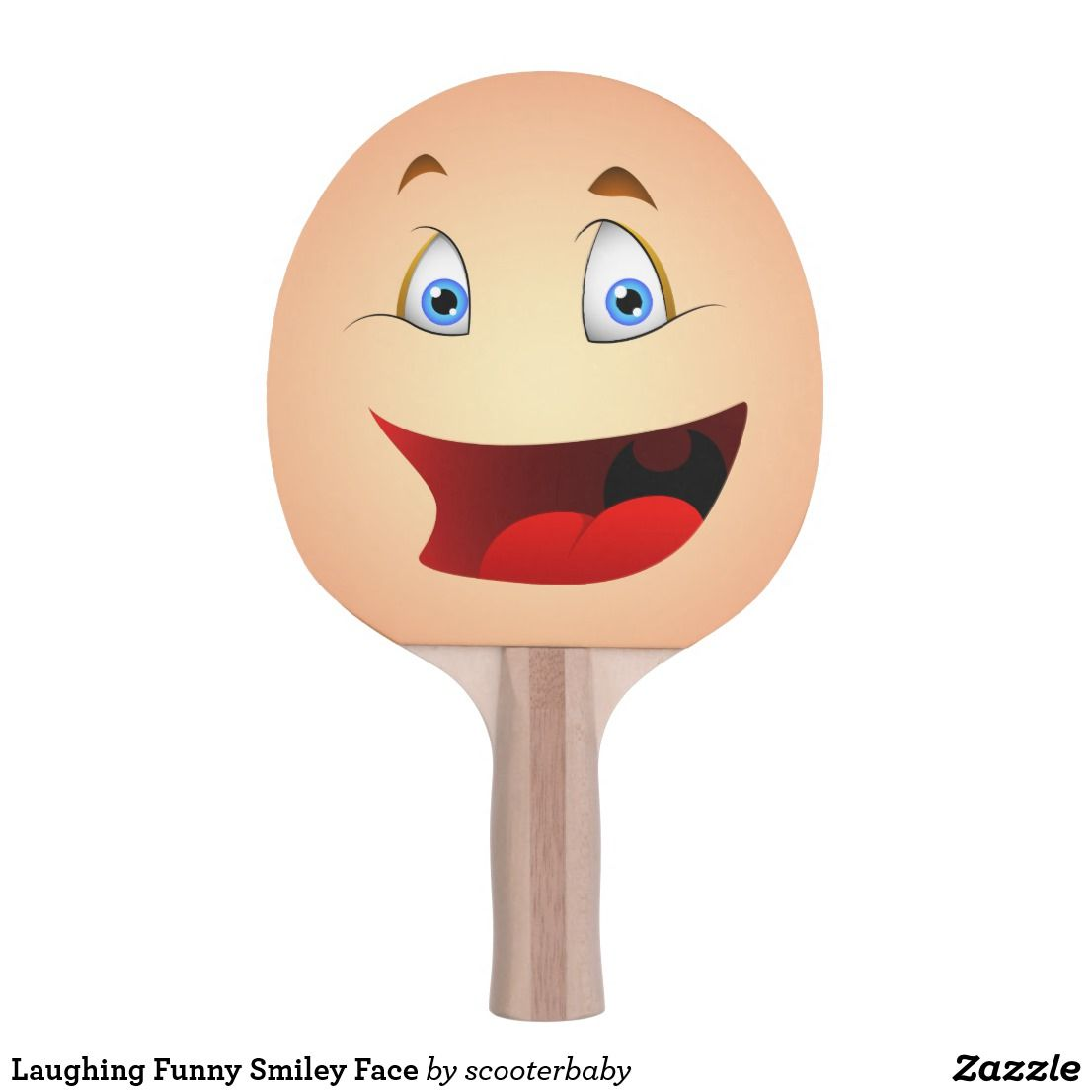 Laughing Funny Smiley Face Ping Pong Paddle Funny Smiley Ping Pong Paddles Table Tennis