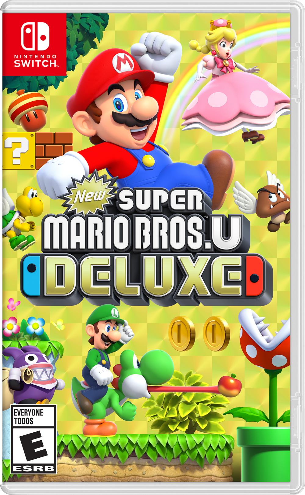 New Super Mario Bros U Deluxe Nintendo Nintendo Switch 045496592691 Walmart Com Nintendo Switch Super Mario Mario Bros Super Mario Bros