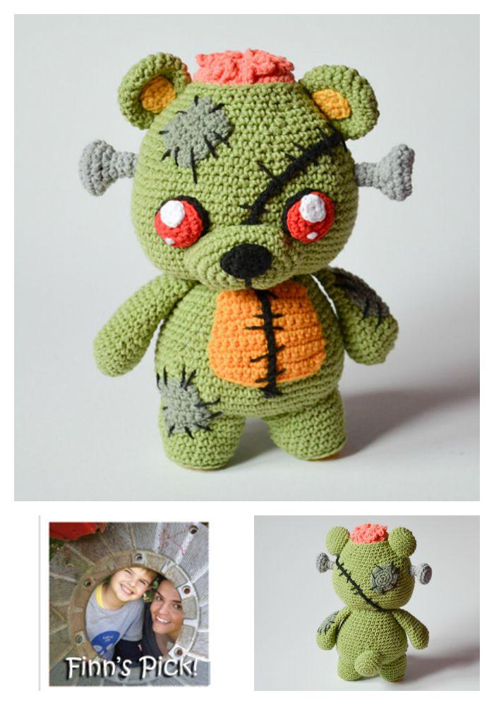 Finn\'s Pick: Frankie the Zombie – Crochet Amigurumi Pattern ...