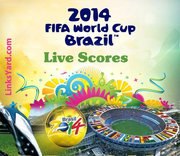 2014 FIFA World Cup Brasil Live-Scores, Results, Fixtures | LinksYard