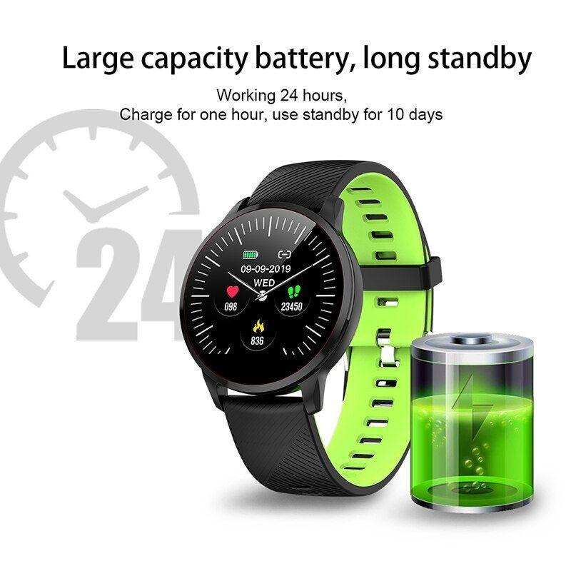 2019 BANGWEI New Brand Fitness Smart Watch Men Women Pedometer Heart Rate Monitor IP67 Waterproof Sp...