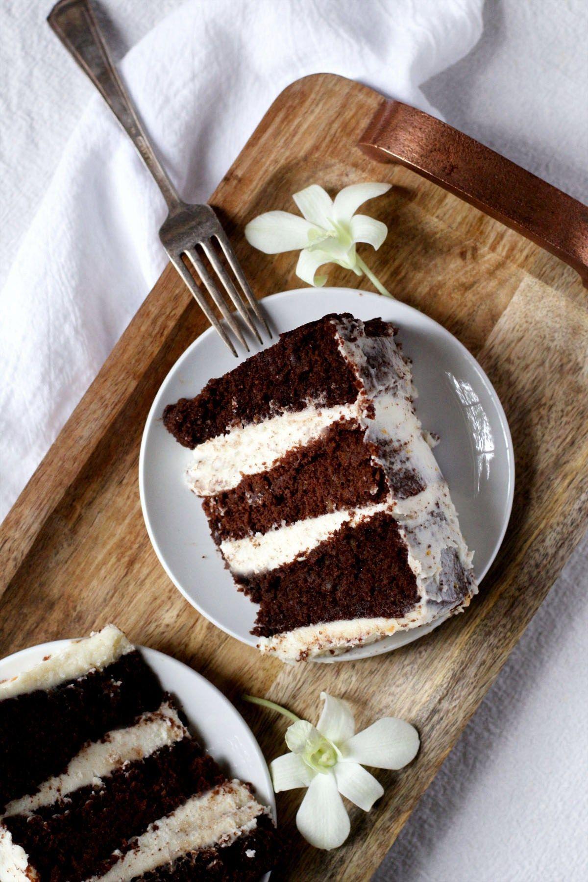 Chocolate Walnut Cake Recipe How sweet eats, Walnut