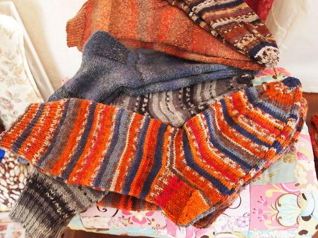 Ravelry: Men's Basic 2 Needle Sock Pattern pattern by ...