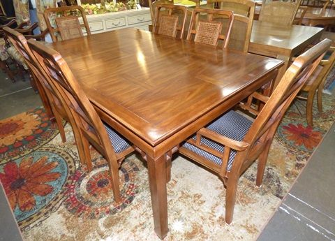 Marvau0027s Place Used Furniture U0026 Consignment Store | Century Furniture Dining  Table With 6 Chairs By