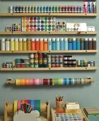 organize a craft room, something for you to do