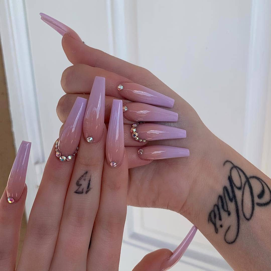 Pin by illxlo💎 on N⋅A⋅I⋅L⋅S in 2019 Nails, Gel nails