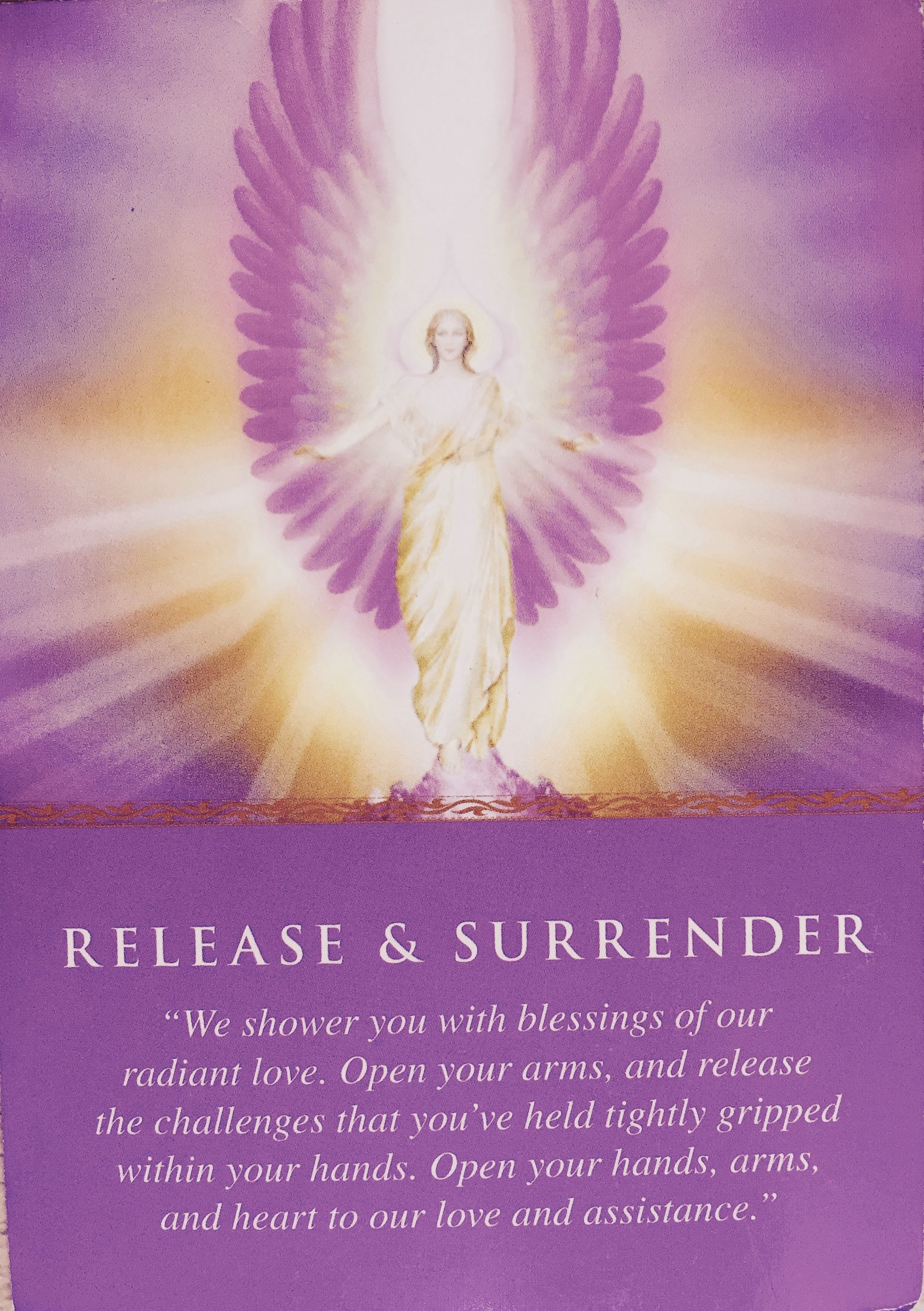 Doreen Virtue Daily Guidance From Your Angels Release Surrender