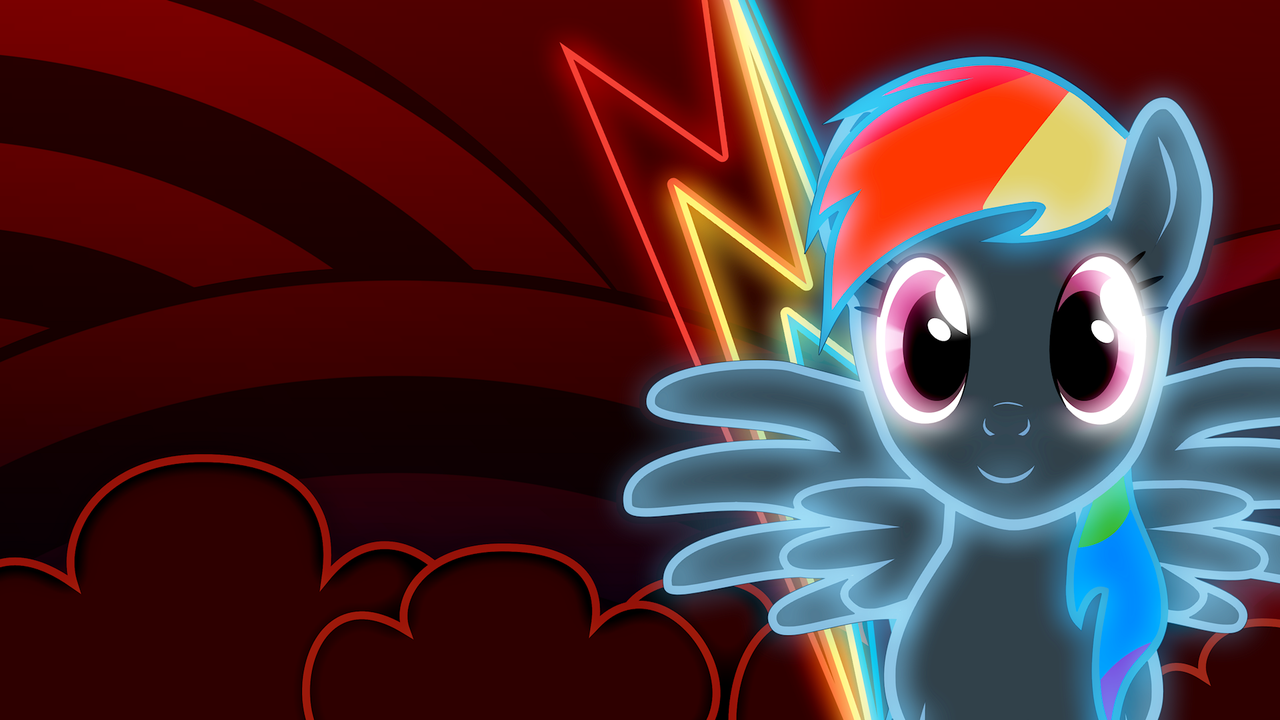 Rainbow Dash Wallpaper With Images Rainbow Dash Mlp My Little