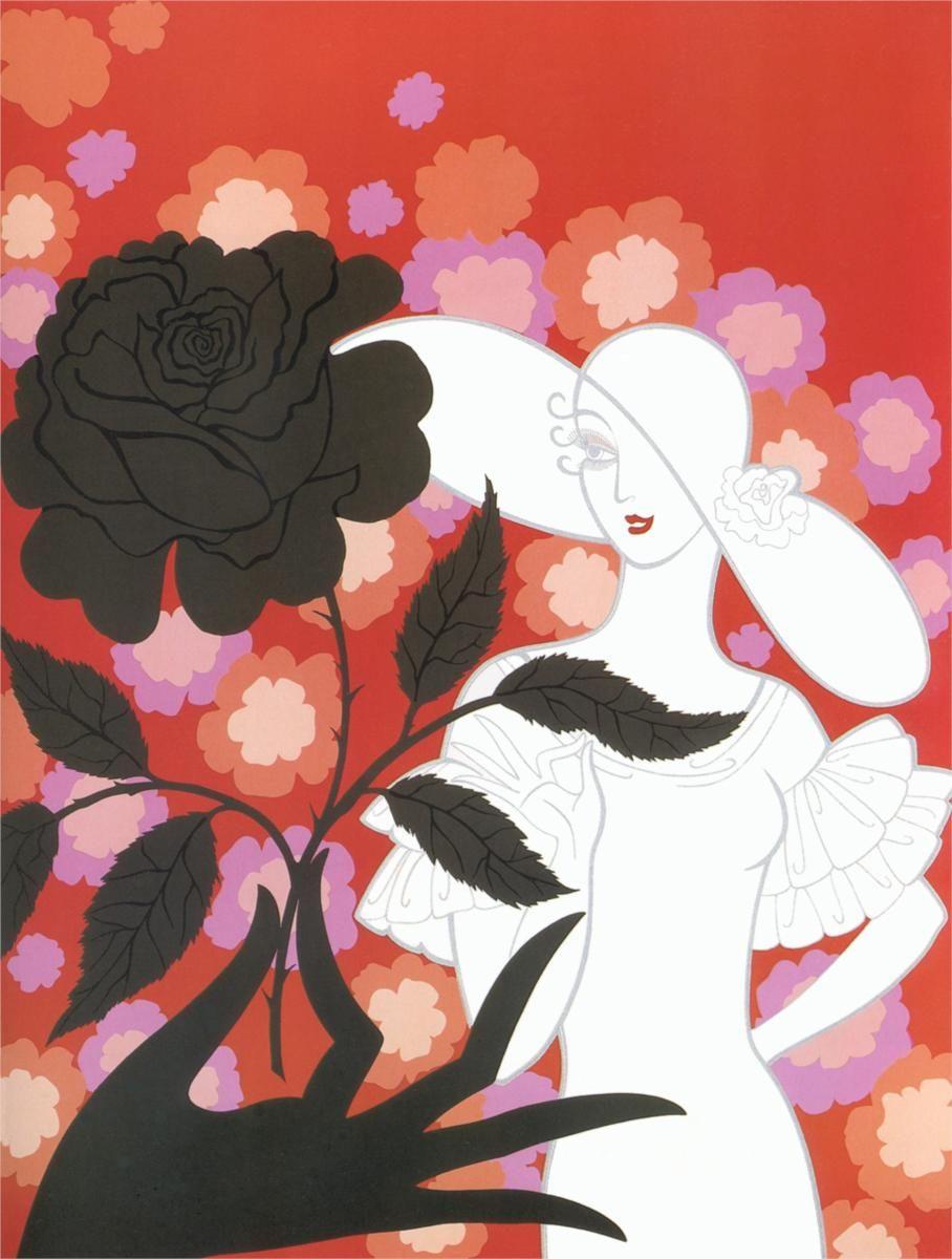 """Résultat de recherche d'images pour """"rose art déco"""""""