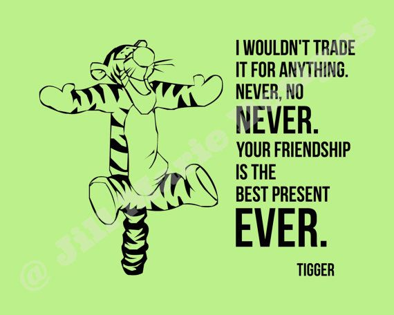 Tigger Winnie the Pooh Quote Printable with by jillmarie7276 ...