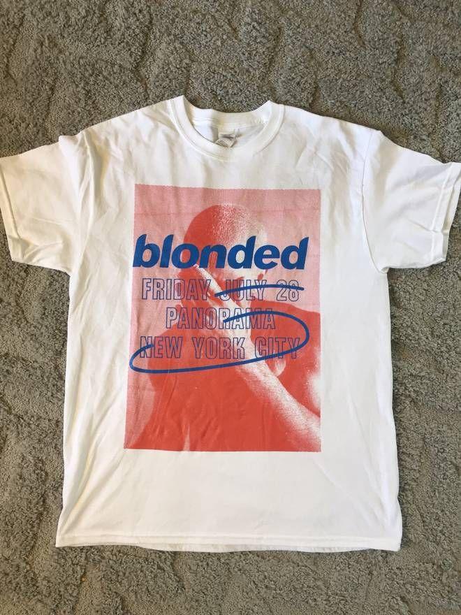 de5bbbde2d6521 Frank Ocean Blonded Merch Tee Size US L   EU 52-54   3