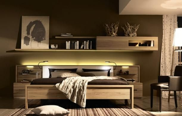 Everything I want in a bed, right down to the sleek reading lamps