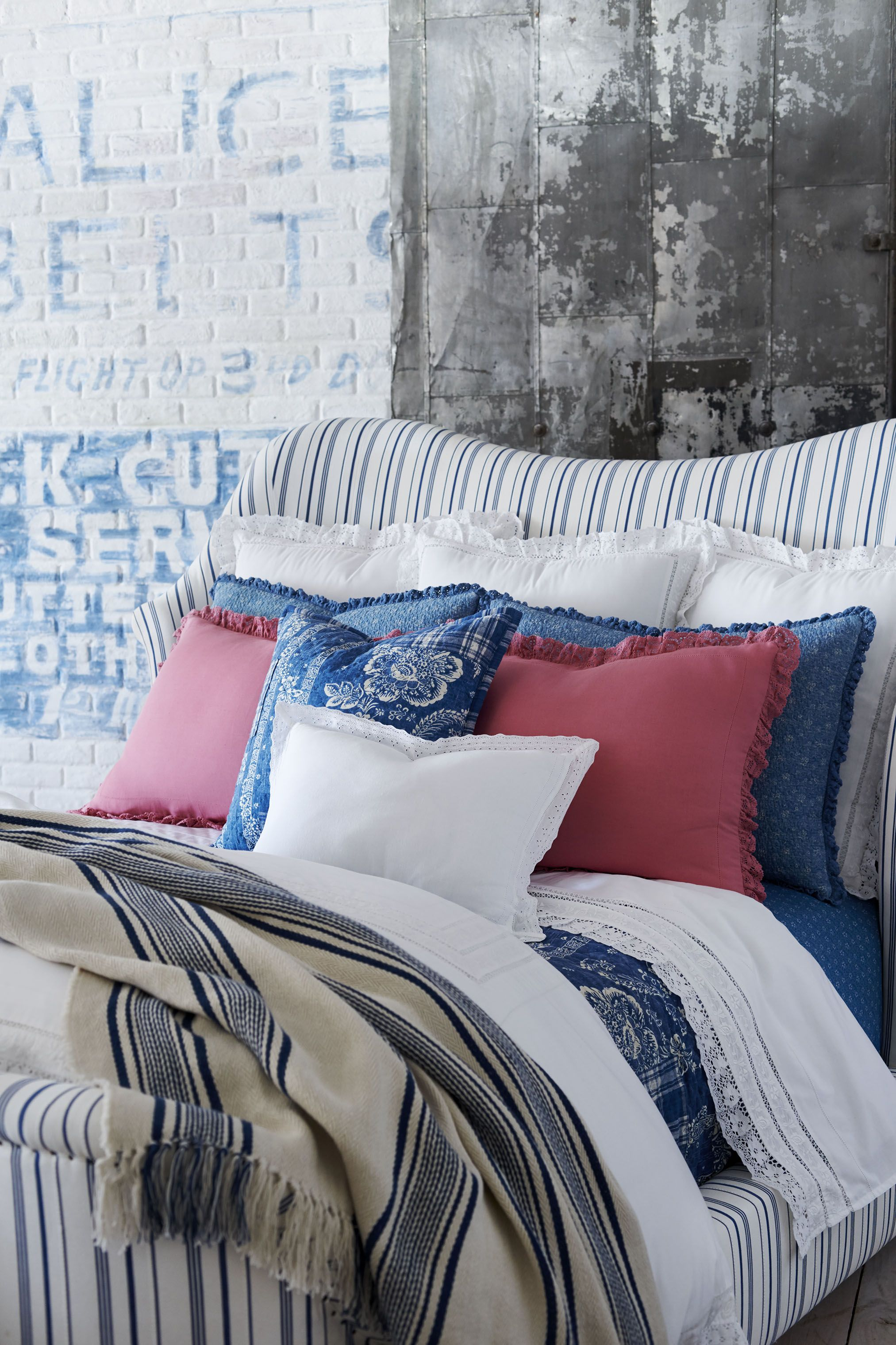 Vintage Inspired Charm Defines The Bedding From Ralph Lauren