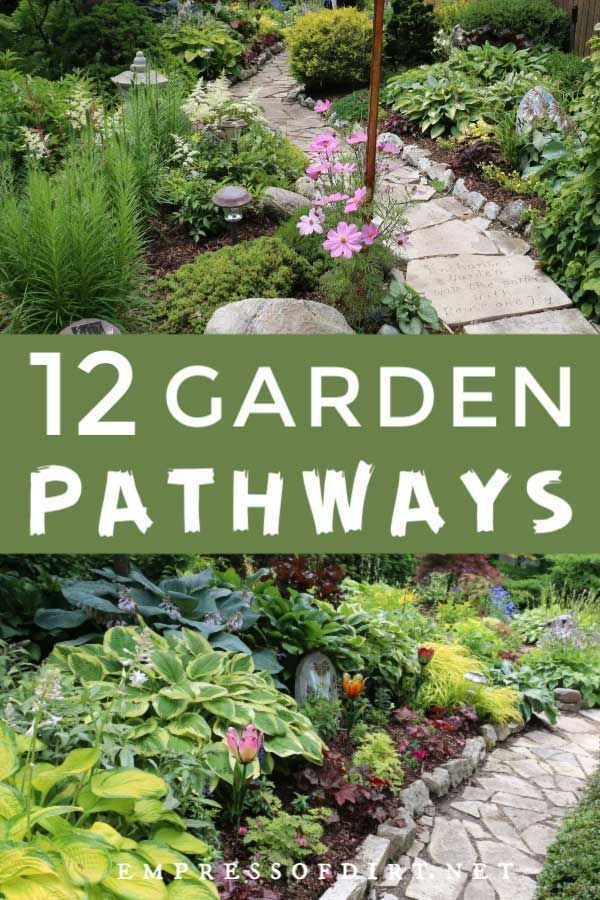 12 Stepping Stone & Garden Path Ideas | Empress of Dirt