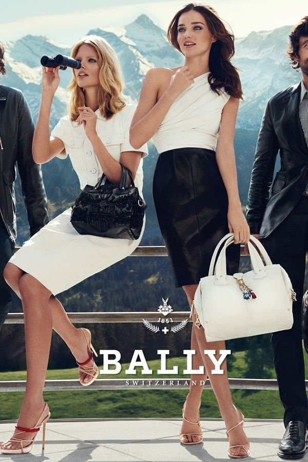 Bally Spring Summer 2012 Campaign by Superproduction, via Behance