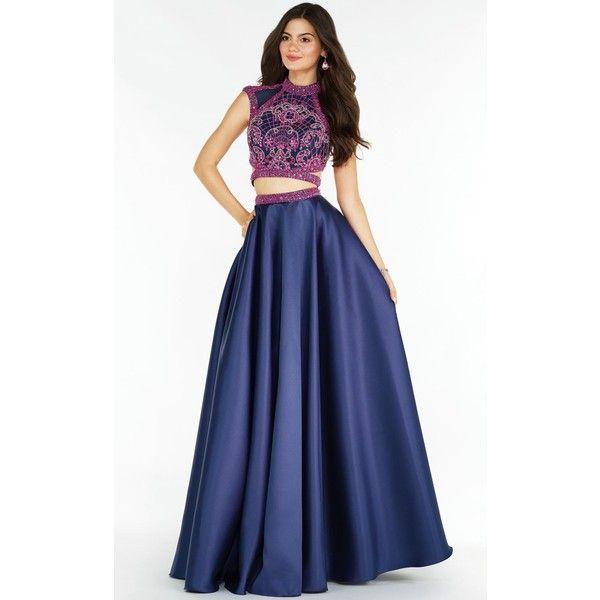 Alyce 6780 Prom Long Dress Long High Neckline Short Sleeve ($448 ...