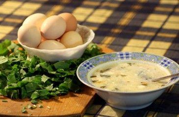 рецепт щавелевого супа пошаговое фото