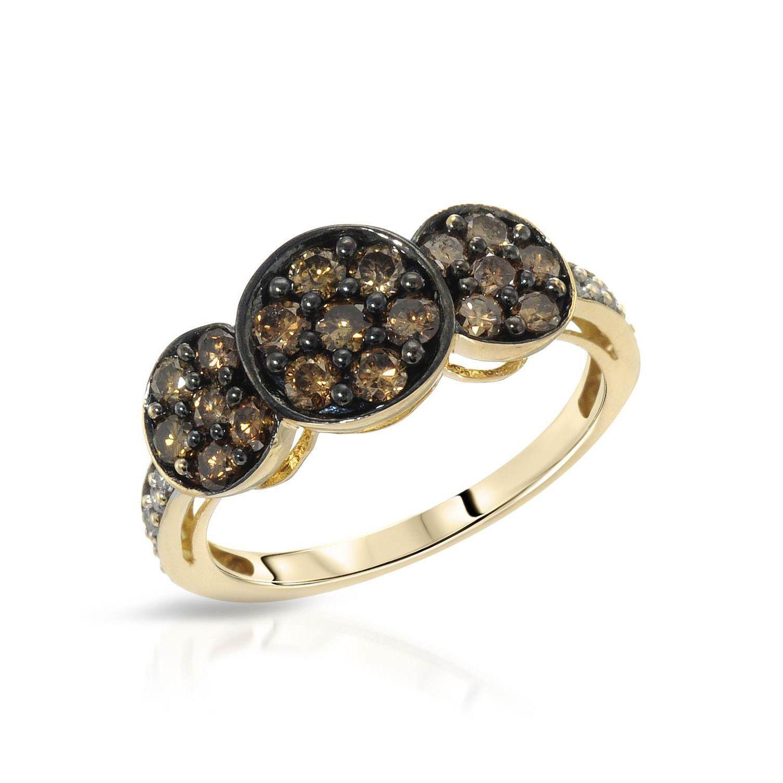 Fay Pay Jewels 14k Gold 1 1/10ct TGW Diamond Ring