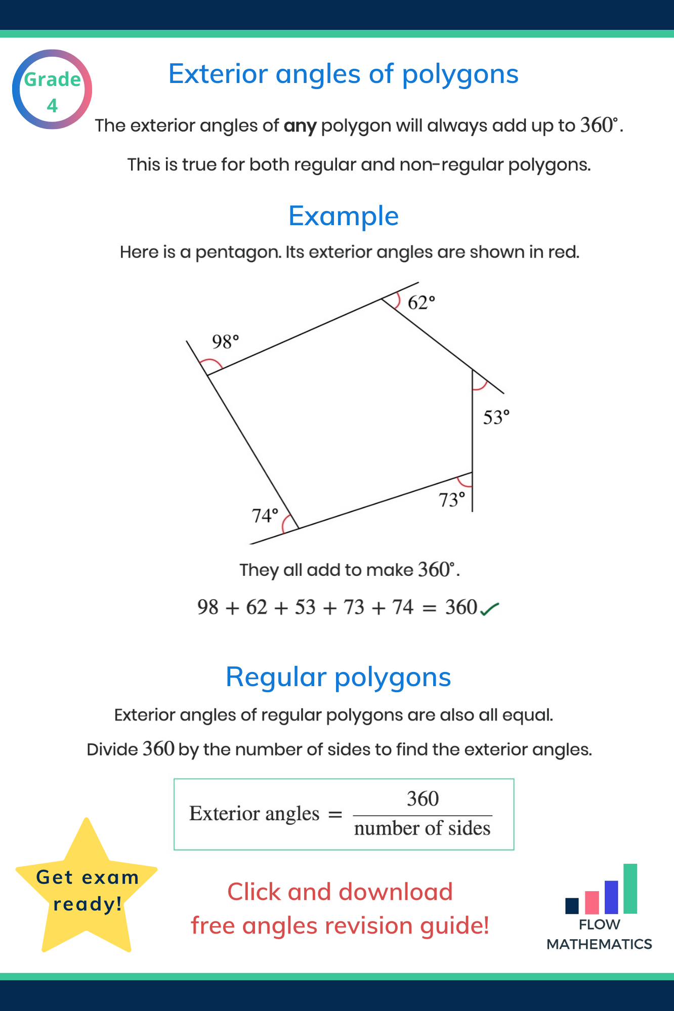 Gcse Angles In Polygons Worksheet