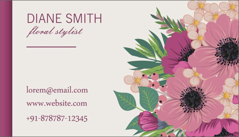 35 free editable beautiful and simple business card