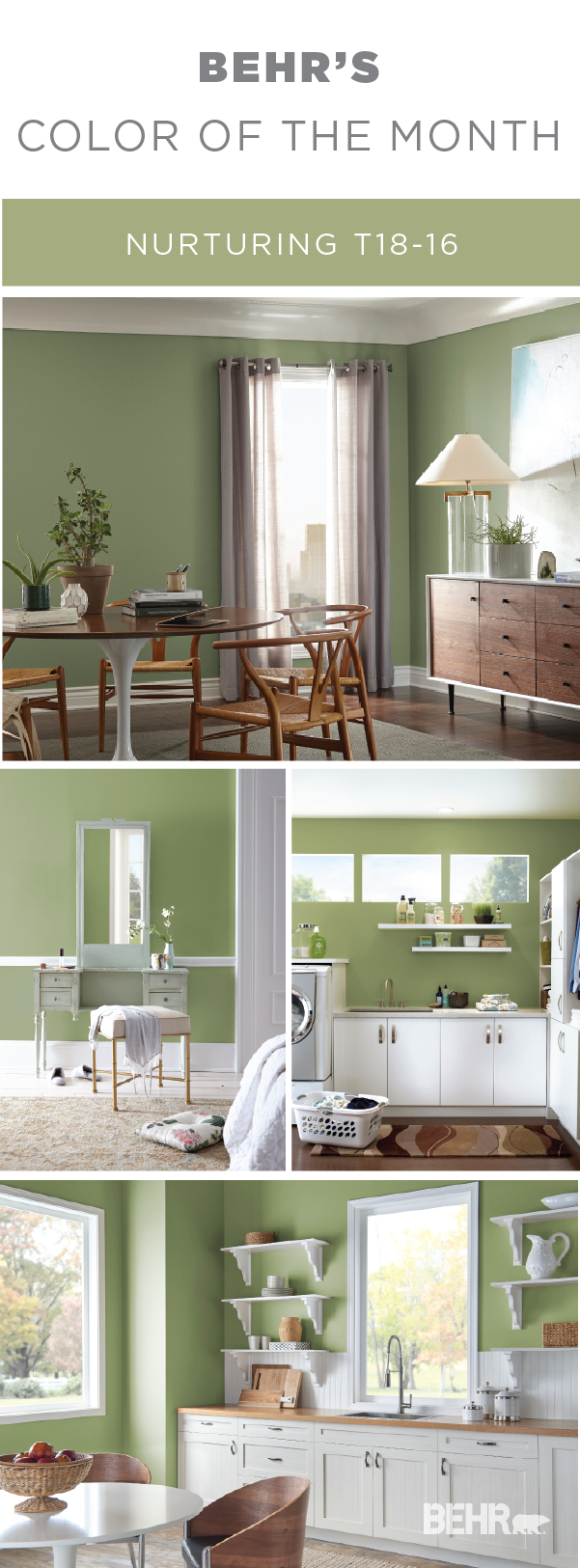 color of the month nurturing paint colors for home on behr paint colors interior id=59655
