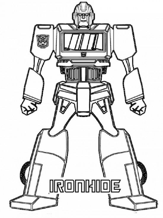 Free Transformers Coloring Pages Picture 9 550x733 picture ...