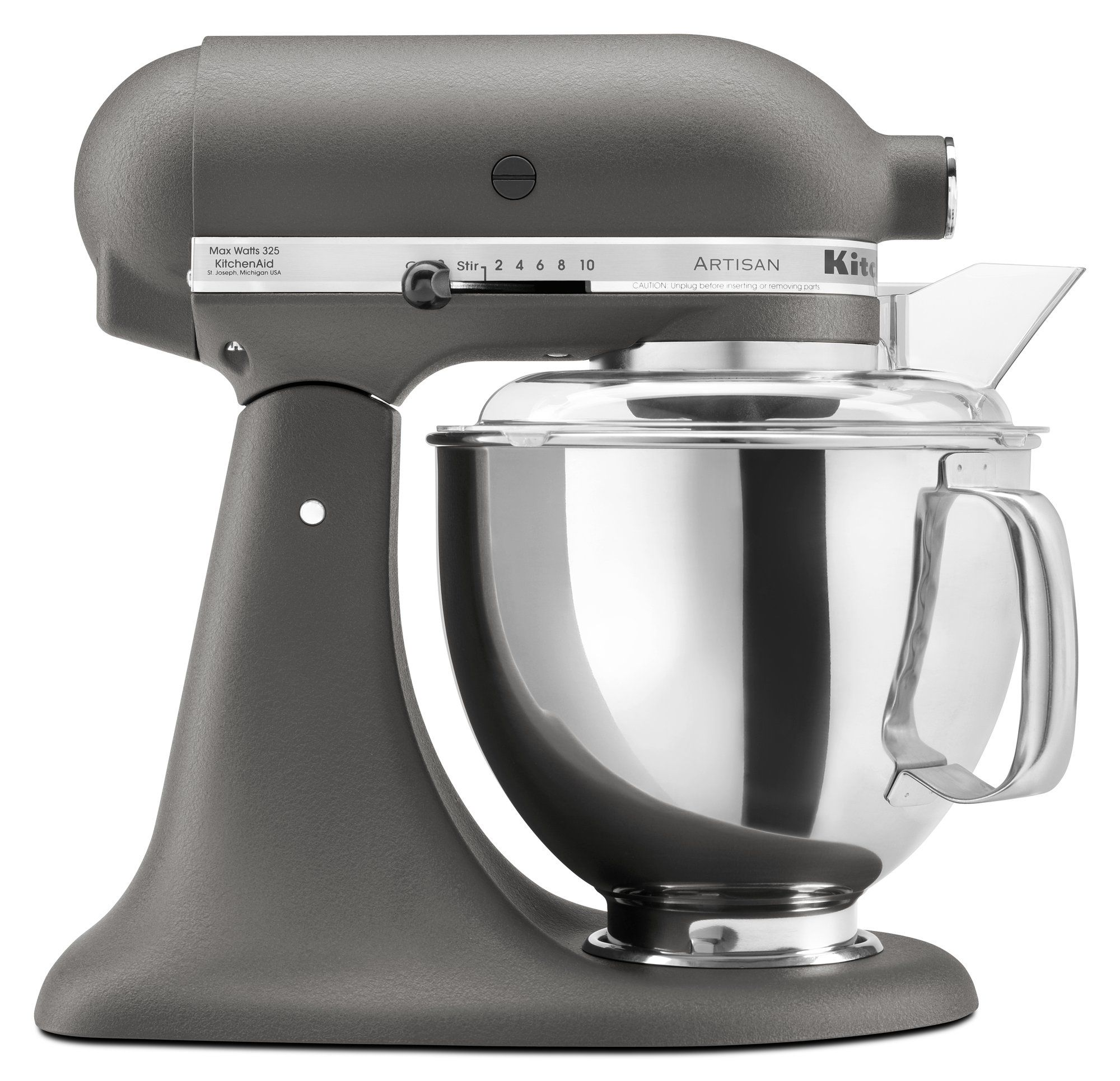 Kitchenaid artisan series 5 qt stand mixer with pouring