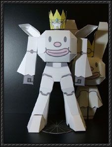 Great Arigato Usagi Rabbit Paper Toy Free Download