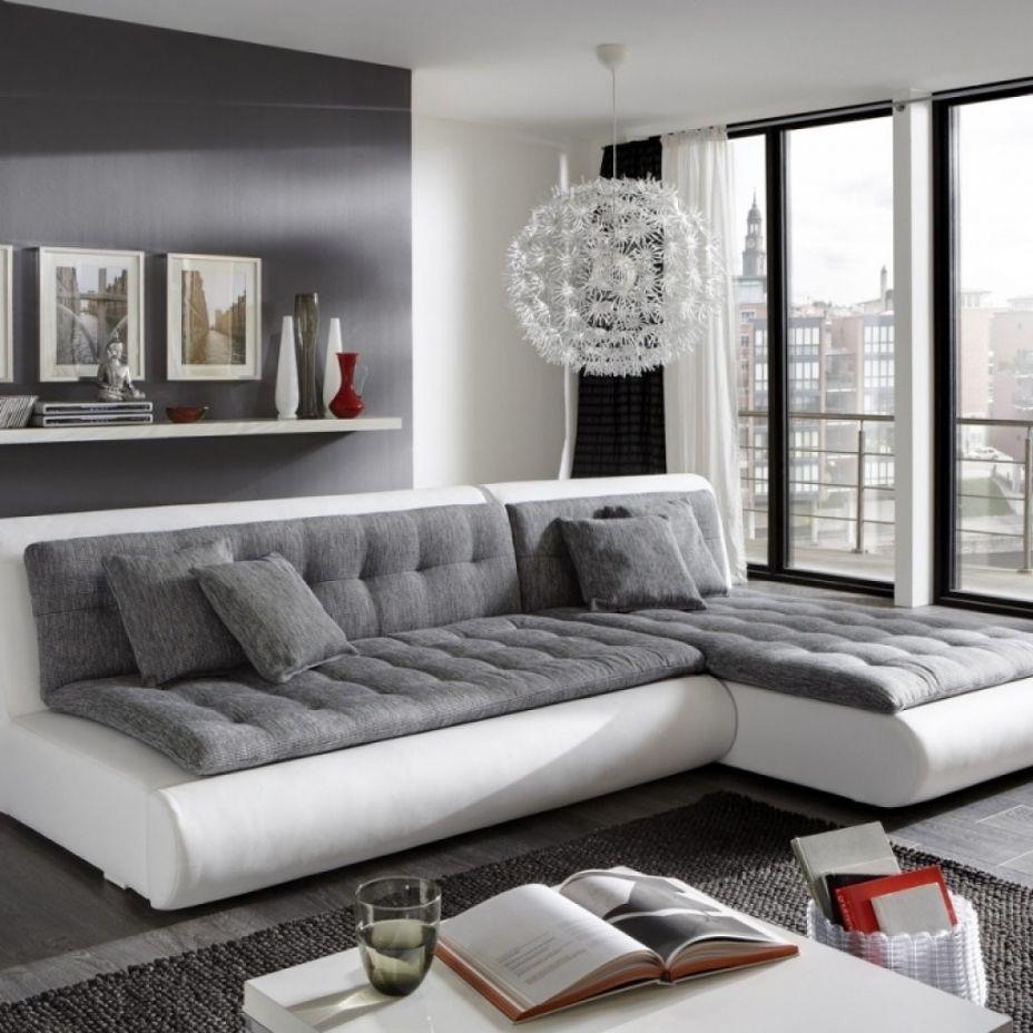 Schon Wohnzimmer Einrichten Grau Weiss