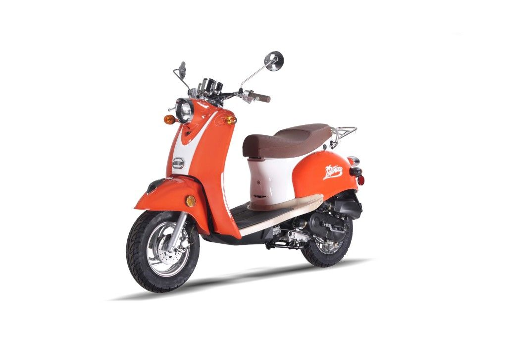 Wolf Metro Retro Islander Scooter - New Scooters 4 Less
