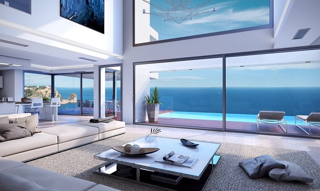 Stunning Luxury Homes For Sale On Propertyandspain Co Uk Luxury Lifestyle Interiors Interiordesign Hom Luxury Homes Dream Houses Luxury Homes House Design