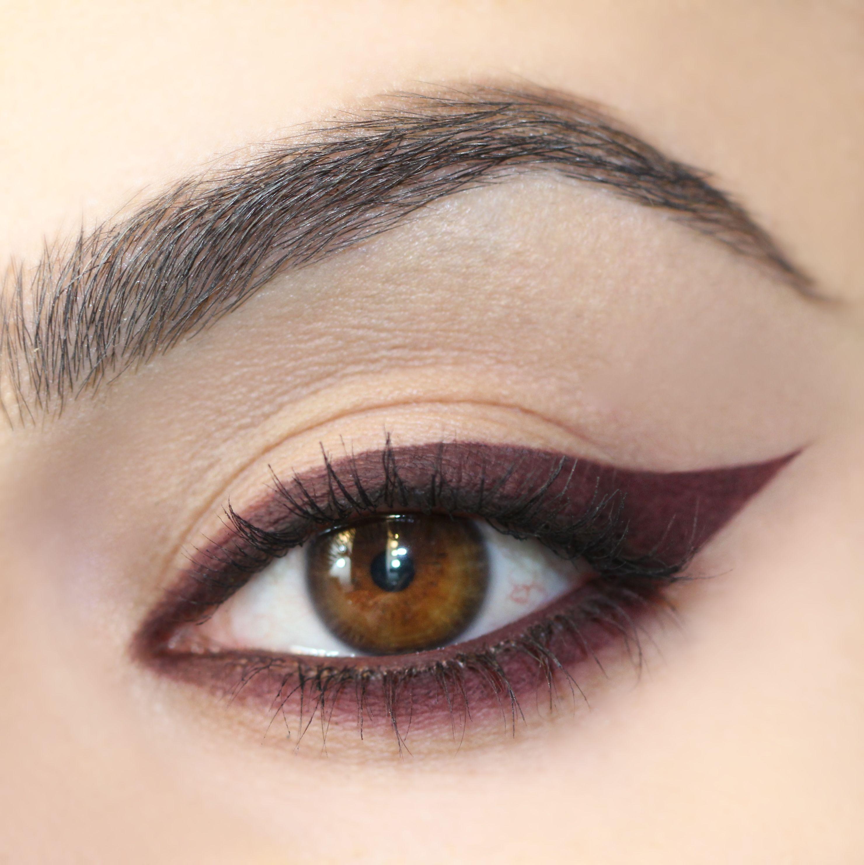Best O - ColourPop | Gel eyeliner pencil, Red eyeliner, Smokey eye makeup