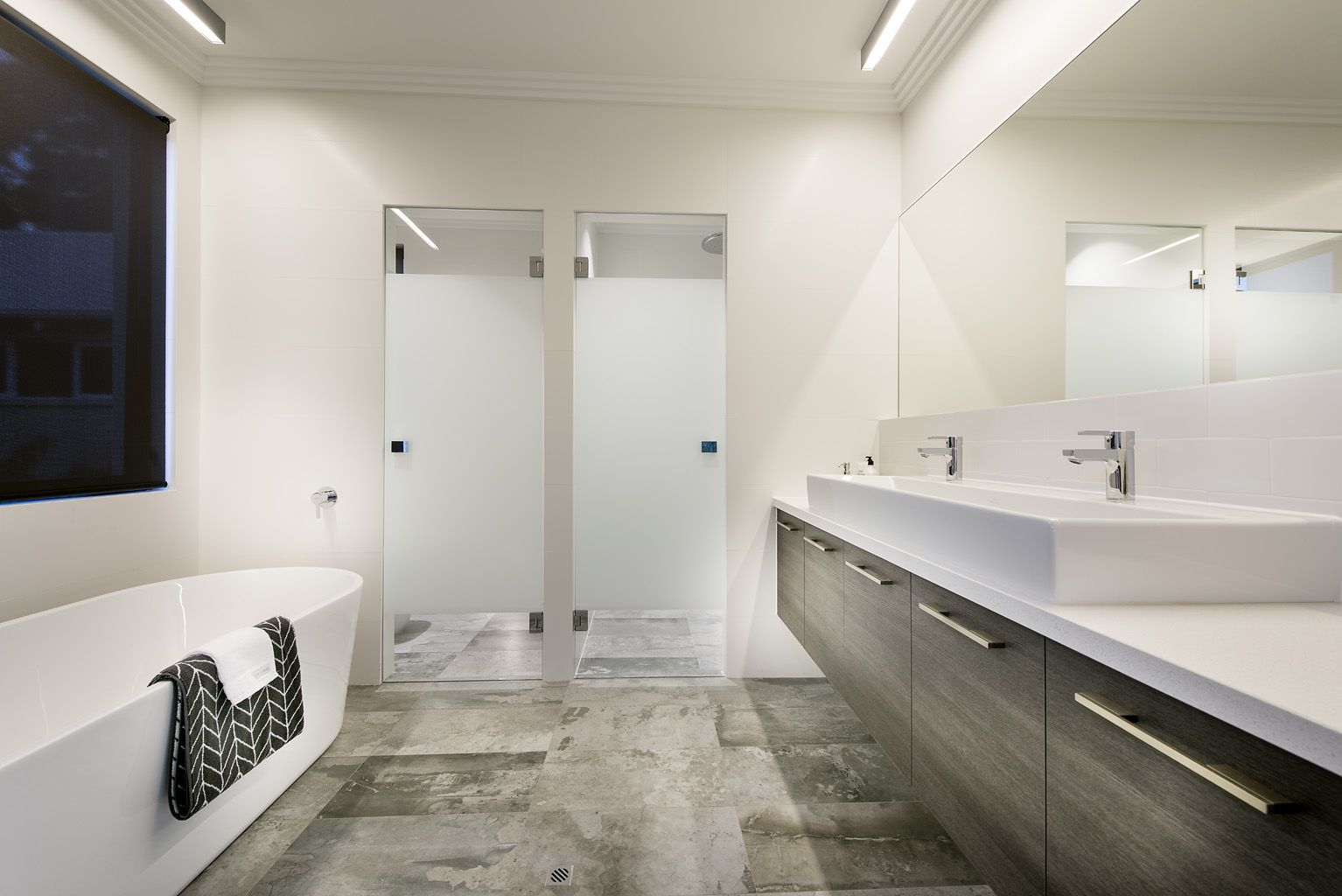 Ensuite Bathroom In The Tribeca Display Home By Webb