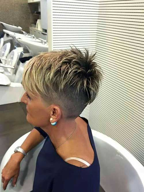 15 Layered Pixie Cut Frisuren Haarschnitt