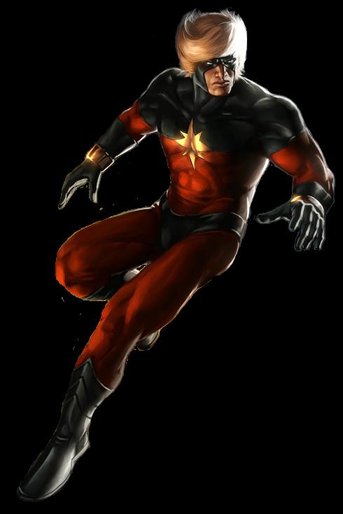 Captain Mar Vell Transparent By Davidbksandrade Da37o80 Png 490 734 Ms Marvel Captain Marvel Captain Marvel Superhero Images