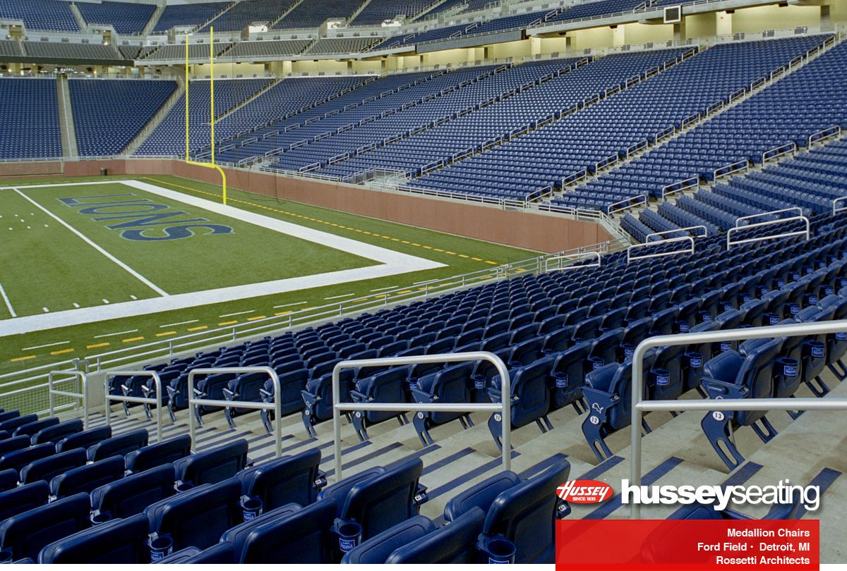 Ford Field Stadium Seating Photos Hussey Seating Stadium Ford Field Baseball Field