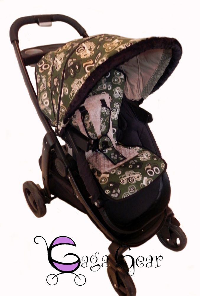 65845fa67 Graco Modes Click Connect stroller with seat liner and replacement canopy  in the Parker collection from www.gagababygear.com. Monster trucks!