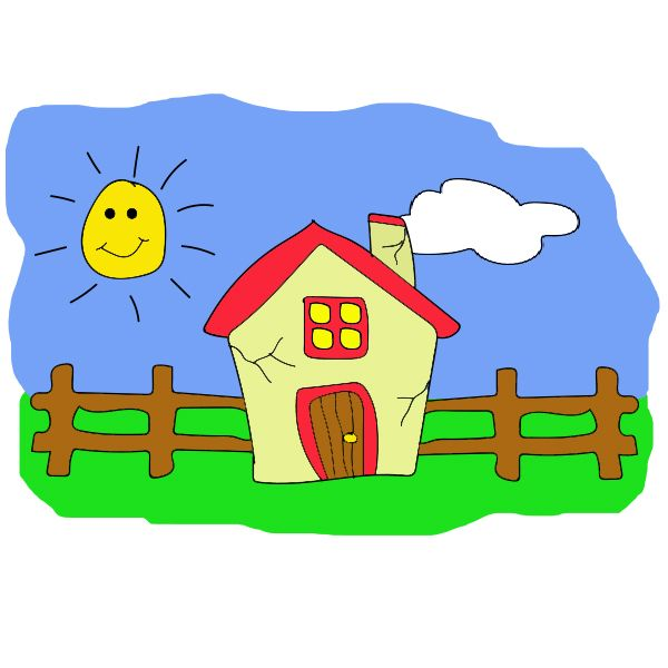 Free Clipart Free House Clipart Free Weathered House Clipart Life
