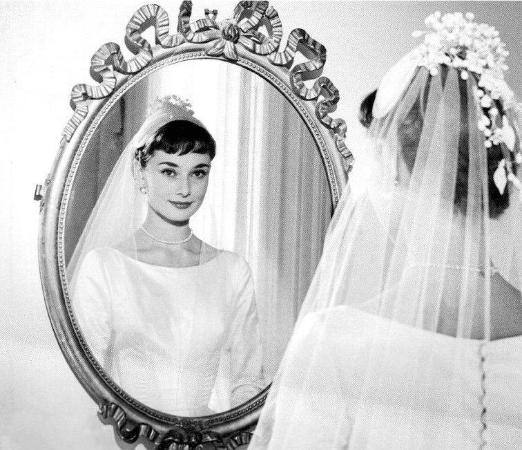 Classic Wedding Audrey Hepburn Wedding Audrey Hepburn Wedding Dress Audrey Hepburn